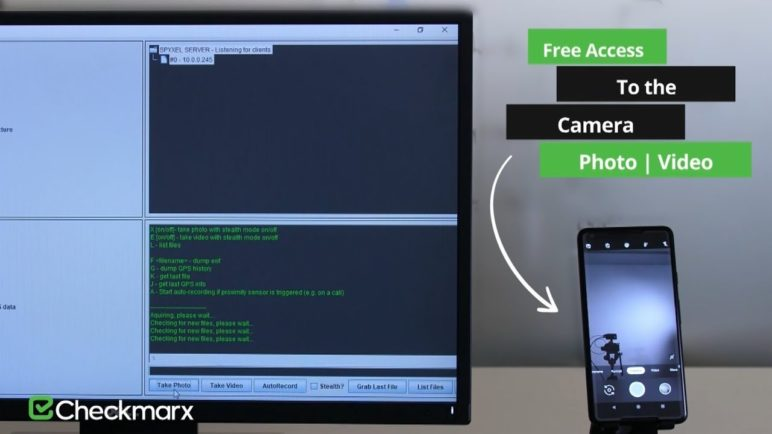 Hijacking Google Pixel Camera Application