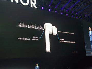 honor flypods 3 mikrofony