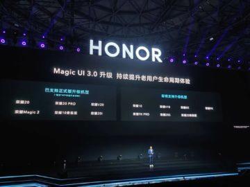 honor telefony android 10 magic ui 3.0 aktualizace