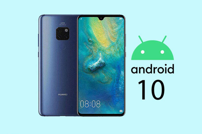 huawei mate 20 pro emui 10 android 10