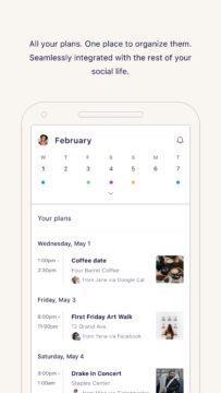 IRL - Social Calendar - sociální kalendář