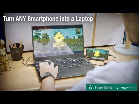 Kickstarter's Best 💡 PhoneBook Smartphone-to-Laptop Devices