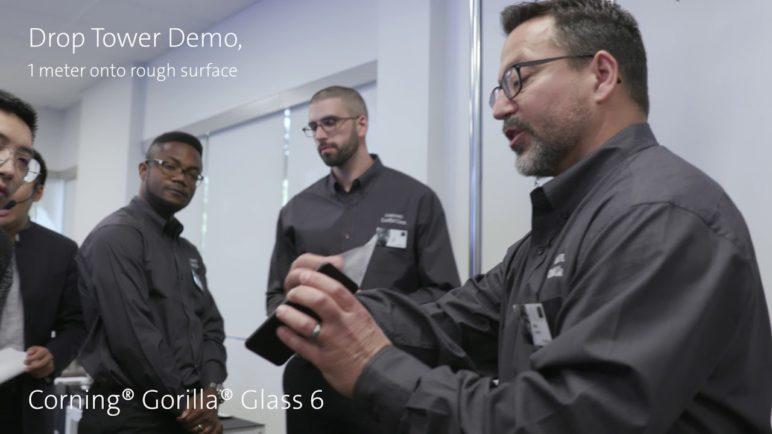 Live demo of Corning® Gorilla® Glass 6