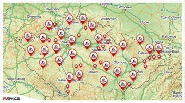 mapy.cz dalnice objizdky