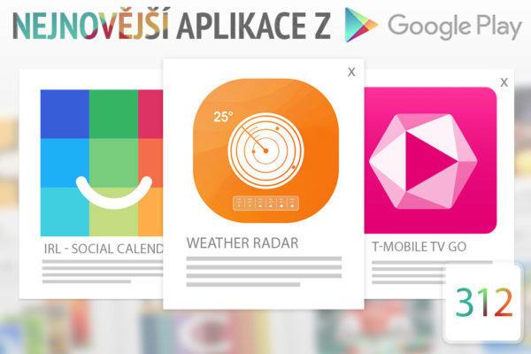 Nejnovější aplikace z Google Play #312: sledujte televizi v mobilu