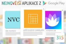 Nejnovější aplikace z Google Play #315: lepší rozvrh hodin a ovládnuté emoce
