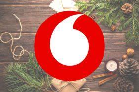 neomezená data vodafone vánoce