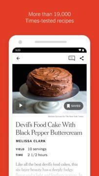 NYT Cooking - kuchařské recepty