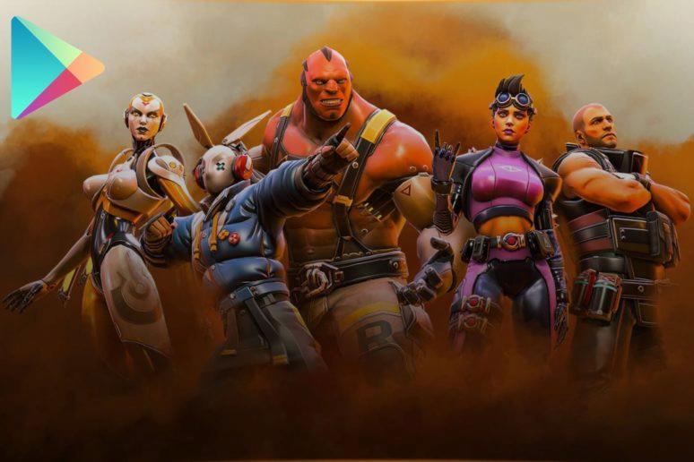 předregistrace do Shadowgun War Games