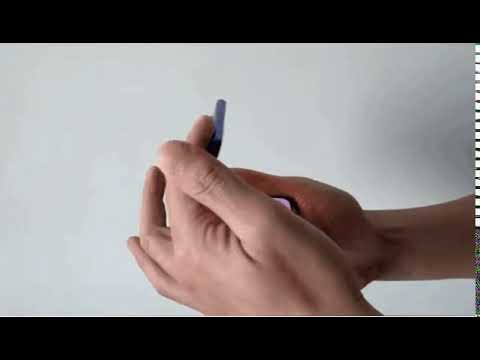 Prototipe smartphone clamshell Visionox