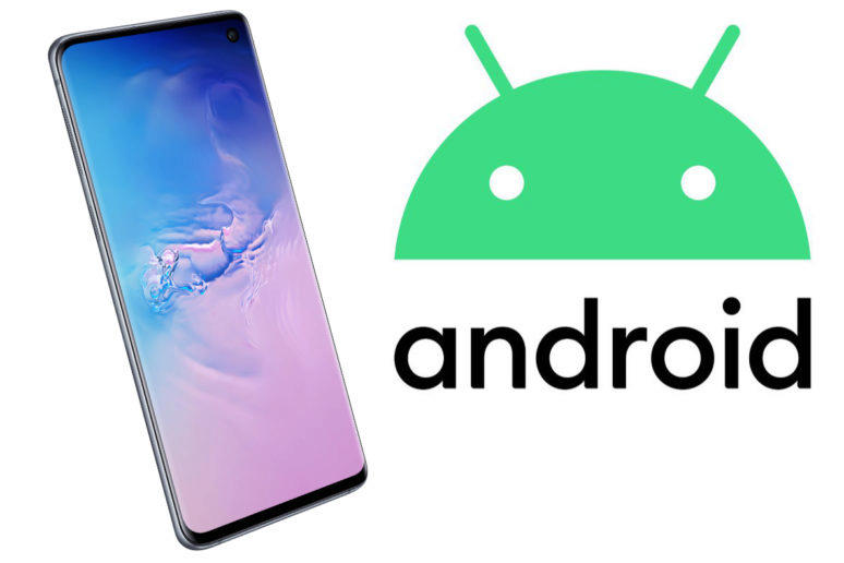 samsung galaxy s10 aktualizace android 10