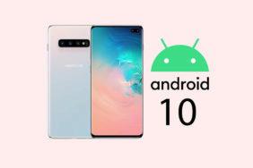 samsung galaxy s10 android 10 beta