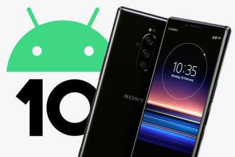 sony telefony aktualizace android 10