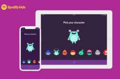 spotify kids nová aplikace