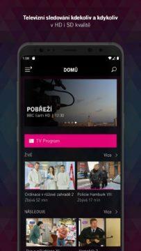 T-Mobile TV GO - sledujte televizi v mobilu