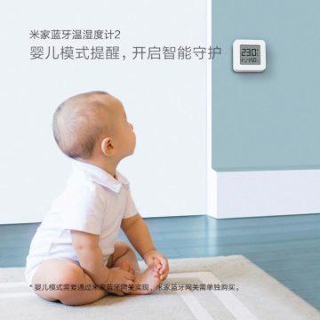 Teplomer xiaomi dětský režim