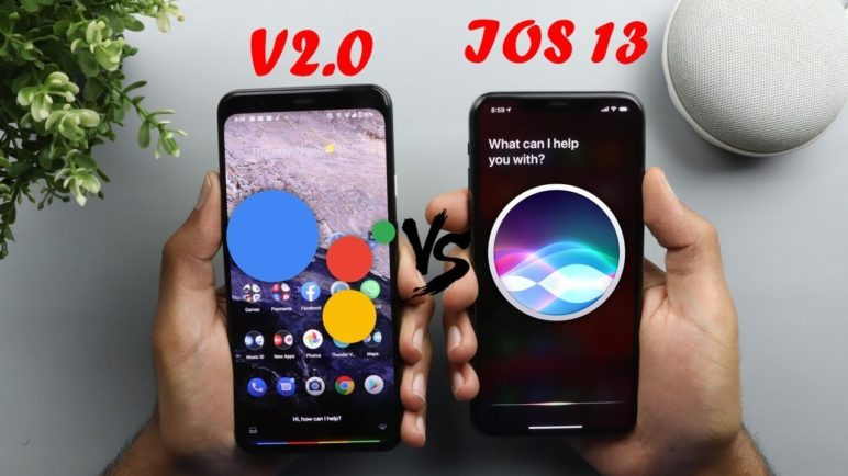 The New Google Assistant V2.0 vs Siri - On Pixel 4 XL & iPhone 11 Pro Max (2019)