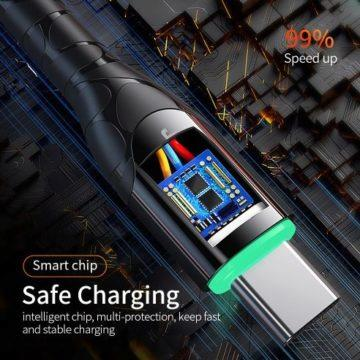 USB C kabel QuickCharge 3.0