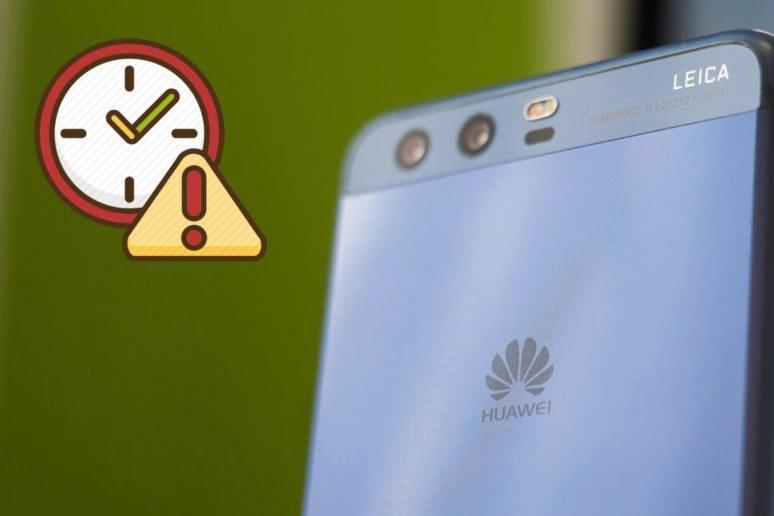 výjimka pro Huawei