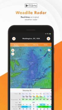 Weather Radar - předpověď počasí