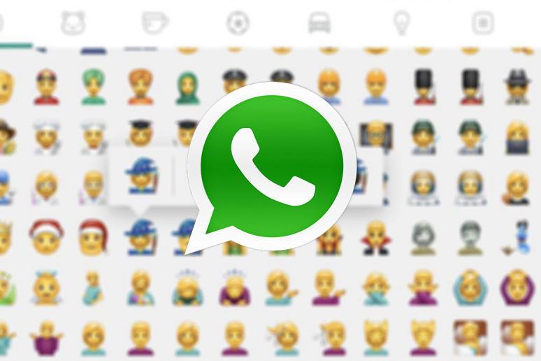 WhatsApp beta nabízí 74 nových smajlíků
