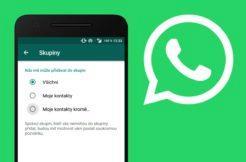 WhatsApp skupiny