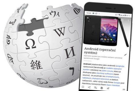 wikipedie mobilní aplikace