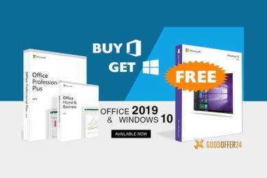 Windows 10 jako dárek zdarma