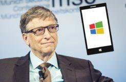 Windows Phone Bill Gates