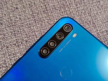 Xiaomi Redmi Note 8T fotoaparáty