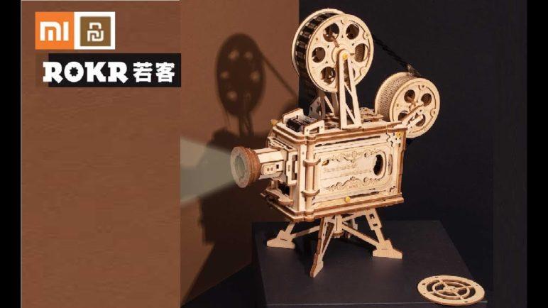 Xiaomi ROKR handmade DIY retro projector LK601