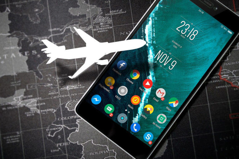 android 11 letadlový režim
