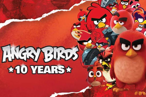 angry birds hra výročí