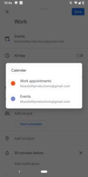 aplikace kalendář událostí