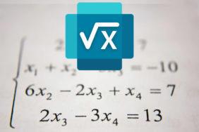 aplikace math solver microsoft