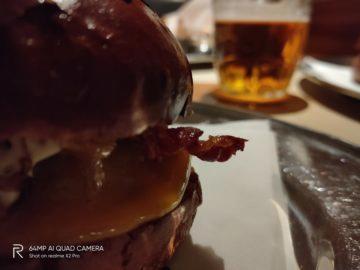 burger foto test Realme X2 Pro
