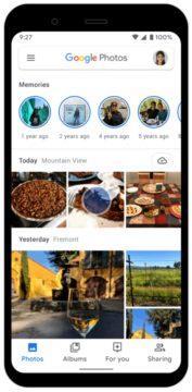 chatování v aplikaci Fotky Google screen 1