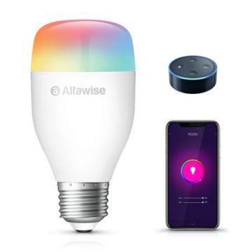 Chytrá RGB žárovka Alfawise
