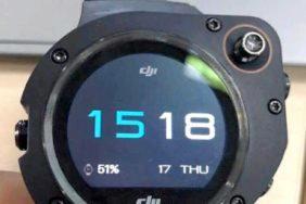 chytré hodinky DJI