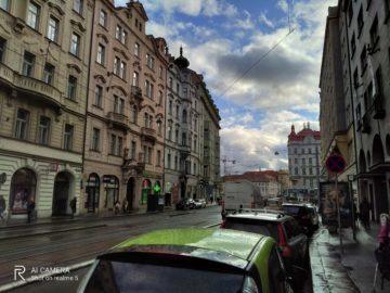 déšť foto test Realme 5