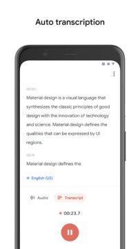 Diktafon - diktafon od Googlu
