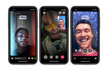 facebook star wars messenger samolepky