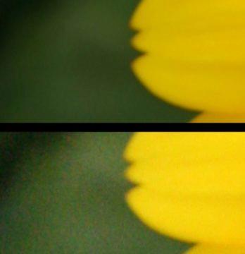fotografické ISO porovnání
