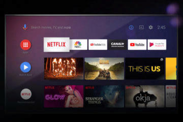 google android tv 10