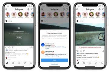 Instagram bojuje proti dezinformacím screen