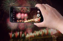 jak fotit ohňostroj telefonem