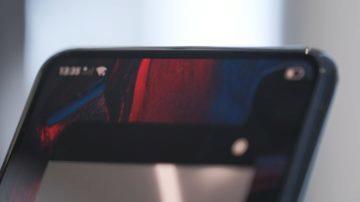 kamera pod displejem Oppo reálné foto 1