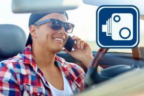 kamery odhalí řidiče s mobilem