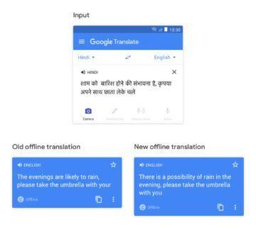 lepší offline Google překlady příklad