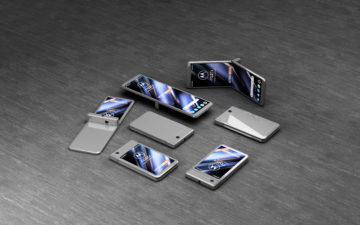 modulární telefon Motorola RAZR spekulace 1